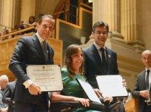 João Doria, Mara Gabrilli e Rodrigo Garcia são diplomados. Foto: Divulgação/Alesp