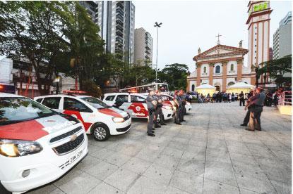 Patrulha de Natal reforça segurança em centros comerciais de S.Bernardo