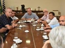 Kiko se reúne com novo líder do Governo e vereadores da base