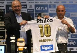 Santos quer entregar 'pacote' de reforços a Sampaoli na 1ª semana do ano