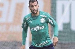 Edu Dracena foi autor do gol alviverde no jogo-treino. Foto: Fábio Menotti/Agência Palmeiras
