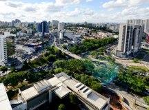 Segundo a prefeitura, há 237 imóveis abandonados e com débitos de IPTU há mais de cinco anos na cidade. Foto: Gabriel Inamine/PMSBC