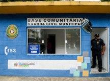 Serviço foi apresentado na base comunitária da Praça Lauro Gomes. Foto: Omar Matsumoto/PMSBC