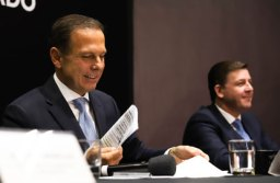 Doria e Morando concederam entrevista no Palácio dos Bandeirantes, após a reunião. Fotos: Divulgação/Governo do Estado