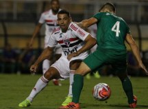 O São Paulo, de Diego Souza, perdeu a segunda consecutiva no Campeonato Paulista. Foto: Rubens Chiri/SPFC