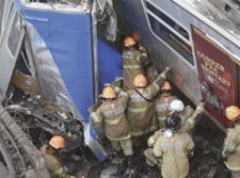 Maquinista morre depois de sete horas preso nas ferragens de trem