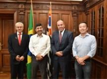 Encontro foi realizado na sede da Secretaria de Esportes do Estado, em São Paulo. Foto: Mariana Rodrigues/PMETRP