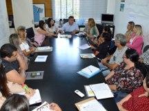 Maranhão apresentou Rosi para funcionários da pasta durante reunião nesta terça-feira. Foto: Divulgação