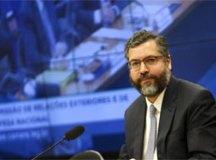 """""""Queremos recuperar tempo perdido"""", diz Araújo sobre relação com EUA"""