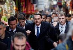 'Nazismo é de esquerda', diz Bolsonaro após duas horas no museu do Holocausto