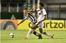 O Santos teve atuação irregular no Rio, mas obteve a vaga