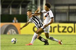 Santos perde do Vasco no Rio, mas se classifica