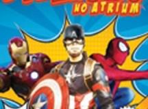 Atrium Shopping promove encontro com coplays super-heróis