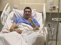 Pablo escreveu que tudo correu bem durante a cirurgia. Foto: Reprodução/Instagram