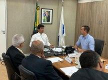 Mandetta teria garantido a Michels que INSS não vai retomar o prédio do HM. Foto: Divulgação