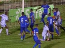 Santo André e Rio Claro fizeram um jogo dramático no Schmidtão. Foto: Reprodução/Sportv
