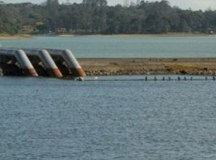 Problema foi causado pelo excesso de chuva na barragem Rio Grande. Foto: Arquivo