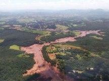 Barragem em Brumadinho, Minas Gerais. Foto: Arquivo