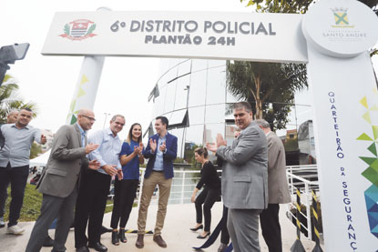 Prefeitura de S.André inaugura Quarteirão da Segurança 24 horas