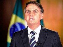 """Bolsonaro: """"Sei que, unidos, vamos ultrapassar essas dificuldades"""". Foto: Reprodução/Palácio do Planalto"""