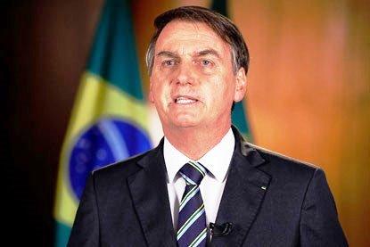 Na TV, Bolsonaro ignora temas do 1º de Maio