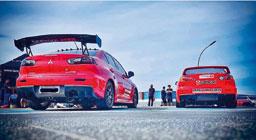 Shopping D recebe o maior encontro de Mitsubishi Lancer da América Latina
