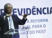 """""""Com essa reforma, abrimos os portões para uma fase nova"""", disse o ministro.  Foto: José Cruz/Agência Brasil"""