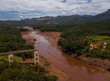 Rompimento de barragem da Vale de Brumadinho (MG), no fim de janeiro, ainda prejudica o desempenho do setor fabril brasileiro. Foto: Arquivo