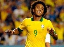 Tite chama Willian, do Chelsea, para o lugar de Neymar