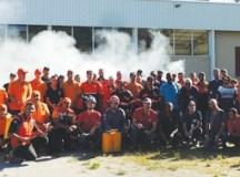 Durante o curso foram abordadas técnicas de atendimento nas situações de salvamento, resgate e primeiros socorros no combate a incêndios em matas. Foto: Divulgação /PMD