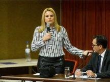 Carla Morando se reuniu esta semana na Assembleia Legislativa com representantes do setor e empresários. Foto: Divulgação