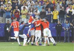Chile elimina Colômbia nos pênaltis e avança na Copa América