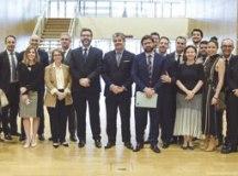 Delegação brasileira participou do fechamento do acordo. Foto: Ministério das Relações Exteriores