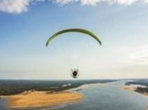 Público poderá conferir conjunto de fotografias e vídeos dos principais rios brasileiros, produzido pelo piloto Lu Marini. Foto: Divulgação