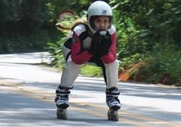 Camila Cavalheiro irá competir na modalidade Inline Downhill, a modalidade mais rápida da patinação. Foto: Divulgação