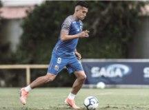 Uribe deve aparecer novamente como titular do ataque santista no jogo desta noite. Foto: Ivan Storti/Santos FC