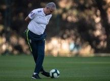 Tite convive com a pressão de ganhar a Copa América. Foto: Foto: Pedro Martins/MoWA Press