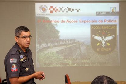 ABC ganha 257 policiais e 20 viaturas com batalhão de ações especiais da PM