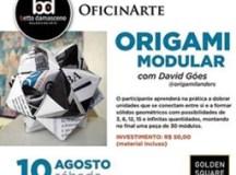 Betto Damasceno Galeria de Arte, do Golden Square Shopping, promove oficina de origami