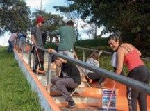 Com cor e vida, escadaria de São Bernardo recebe ação de revitalização