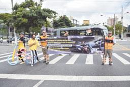 Pedestres e motociclistas são foco na Semana do Trânsito em Diadema