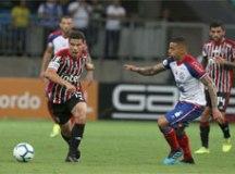 Pela 4ª vez no ano, São Paulo não faz gols no Bahia