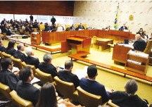 Em sessão tensa, ministros do STF batem boca e Toffoli tem de intervir