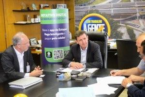 Prefeito Orlando Morando dá início à implantação de estacionamento rotativo 100% digital em São Bernardo