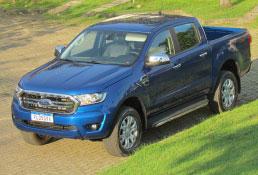 Versão XLT embala as vendas crescentes da picape Ford Ranger