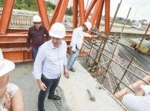 Em São Bernardo, complexo viário Tereza Delta está com 60% das obras concluídas