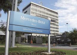 Mercedes-Benz cria empresa de automóveis no Brasil