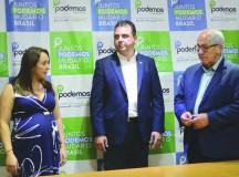 Ademir Silvestre assume presidência do Podemos de São Bernardo