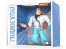 Linha de brinquedos homenageia profissionais de serviços essenciais