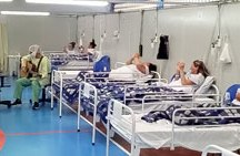 Mães internadas em hospital de campanha de Santo André recebem homenagem musical